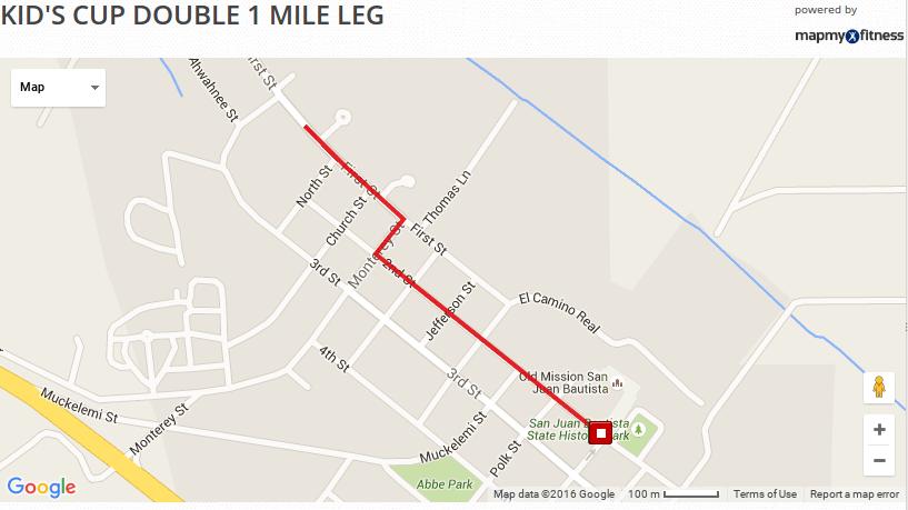 Kids 1 Mile Leg