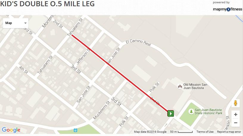 Kids 1/2 Mile Leg