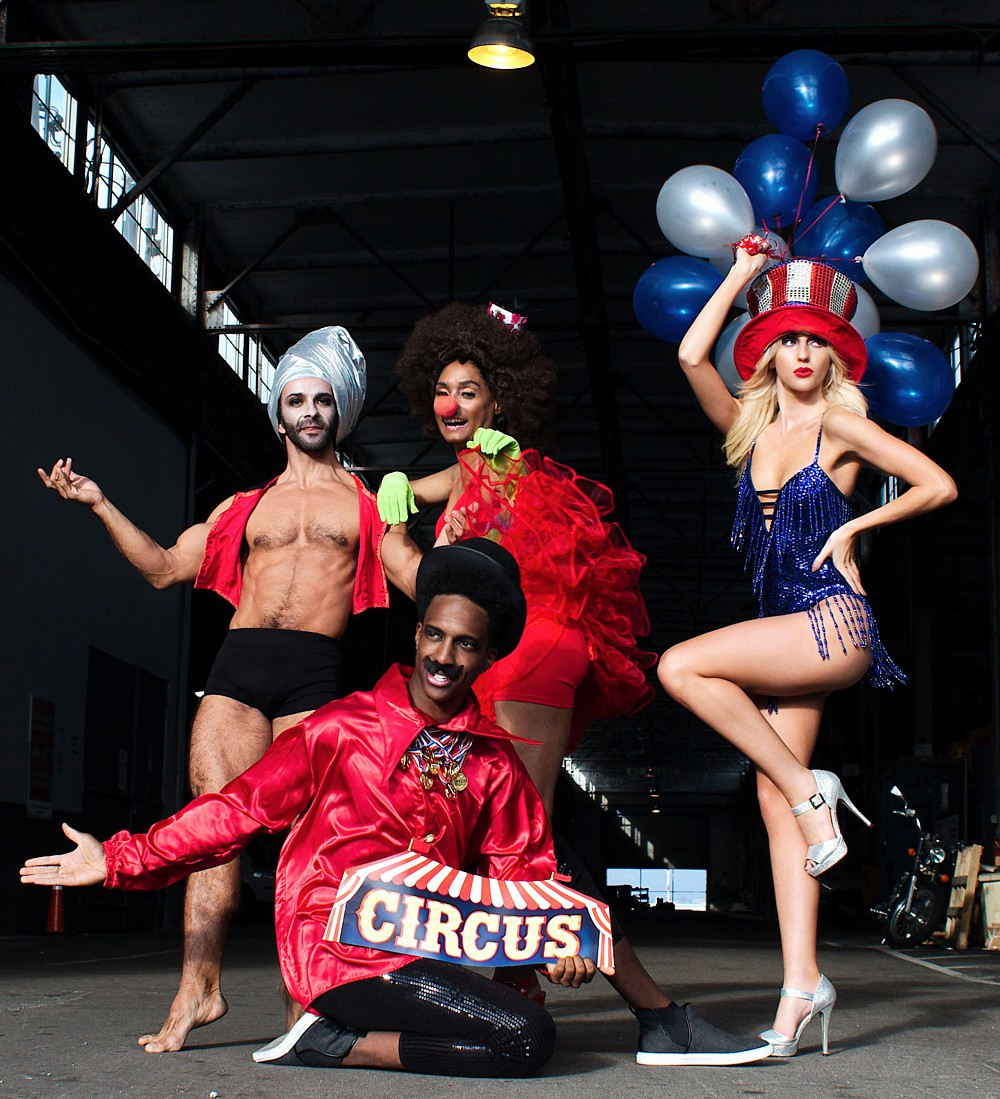 Moda-Couture Circus Fashion